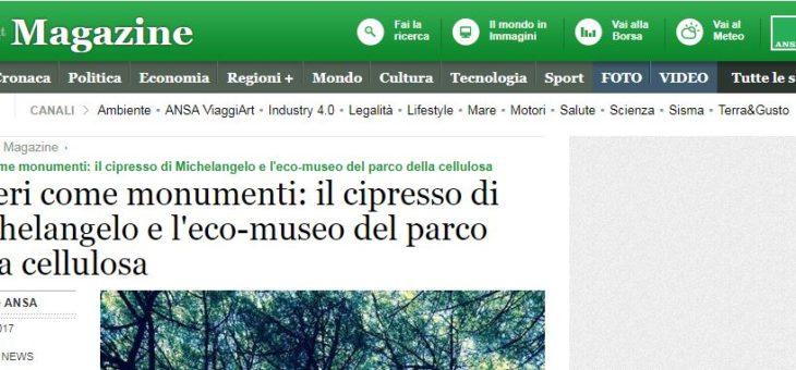 www.ansa.it – l'eco-museo del parco della cellulosa