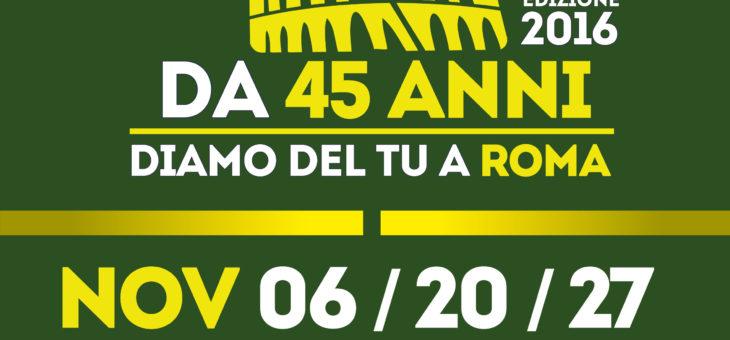"""EVENTO SPORTIVO AL PARCO: DOMENICA 27 NOVEMBRE – terza tappa della """"Corri per il Verde"""""""