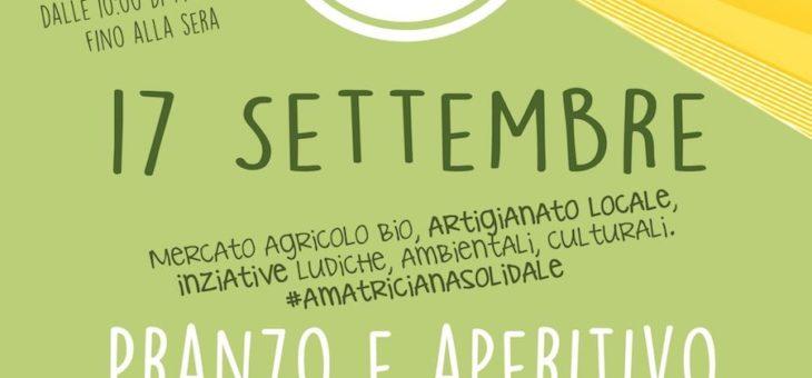 COMITATO PROMOTORE: Laboratori, Cultura e Amatriciana Solidale per fine estate
