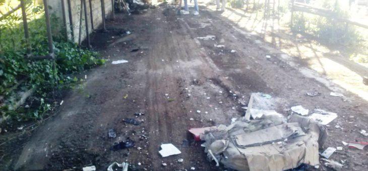 COMITATO PROMOTORE: VOLONTARI LIBERANO CAPANNONE DAI RIFIUTI