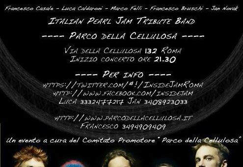 EVENTO 12/05/2012: Inside Jam – Cover Pearl Jam al Parco della Cellulosa