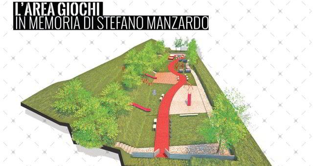 """Festeggiamo insieme la nuova area giochi dedicata a """"Stefano Manzardo e Laura Cece"""""""