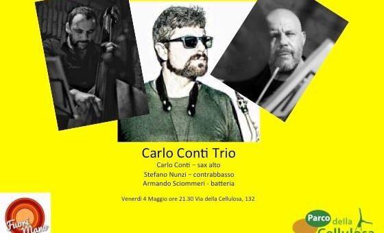 CONCERTI FUORI MANO #3 Carlo Conti Trio – 04 Maggio