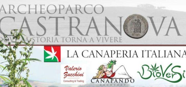 """Archeoparco Castranova 9 e il 10 giugno: CANAPA 3.0 """"A spasso nel tempo"""" – La canapa si racconta"""