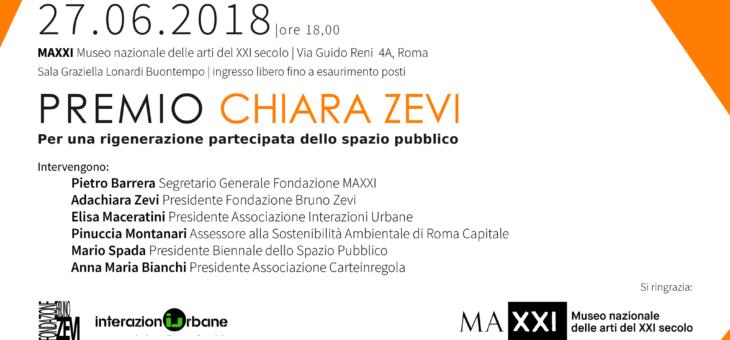 Presentazione del Premio Chiara Zevi al MAXXI