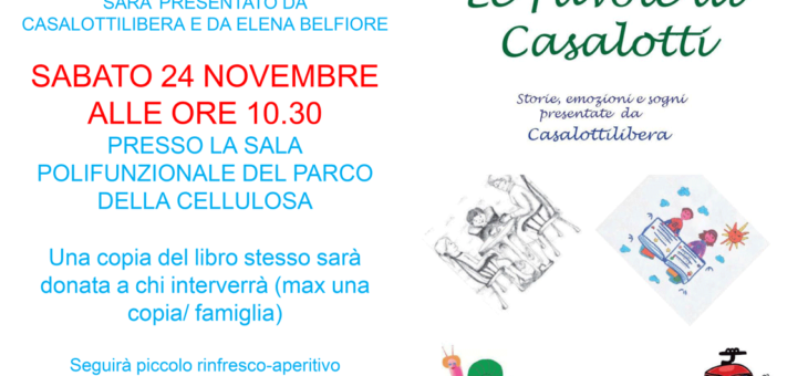Presentazione libro: Le favole di Casalotti