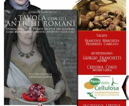 Presentazione libro: A tavola con gli antichi romani