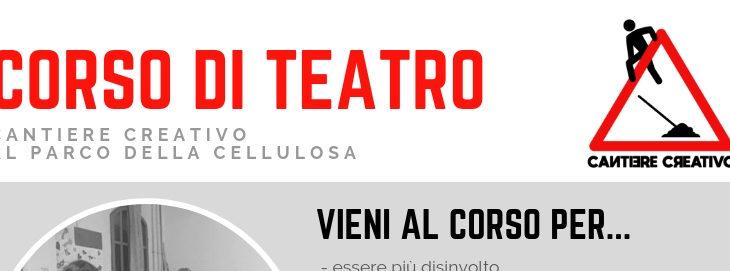 Corso di teatro: aperte le iscrizioni